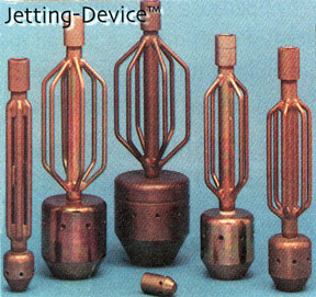 These are jetting devices